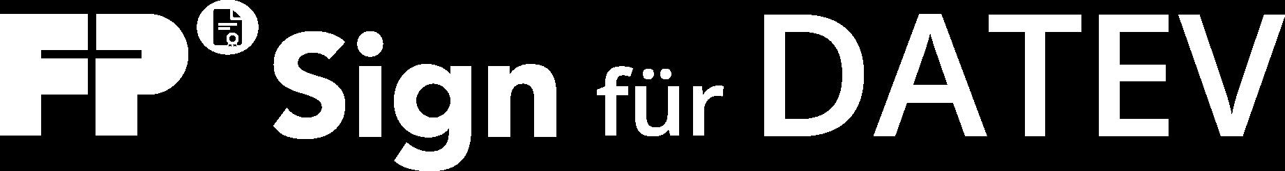 FP Sign für Datev-weiß