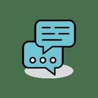 Icon-Kontaktanfrage