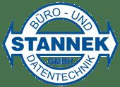 Stannek-Logo Standard Blau - Transparent